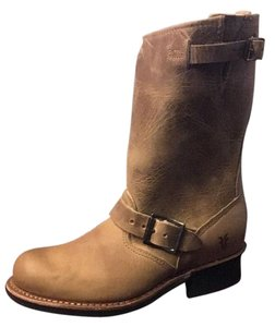 Frye Biker Motorcycle Clearance Engineer Sand Boots