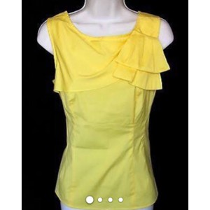 Nanette Lepore Top canary yellow