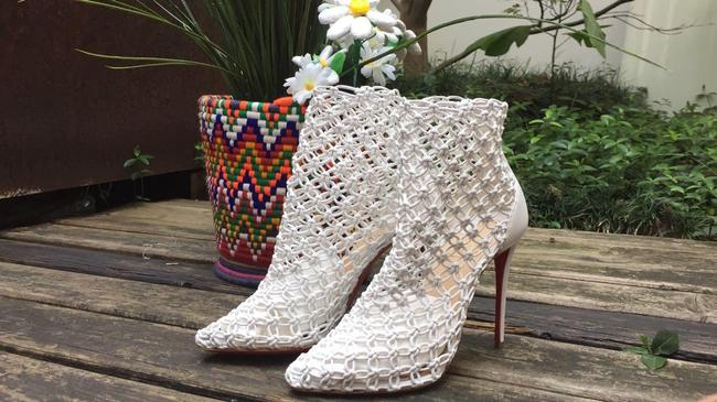 Item - White Andaloulou Boots/Booties Size US 8 Regular (M, B)