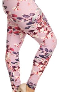 Abby And Anna pink, purple, white. multi Leggings