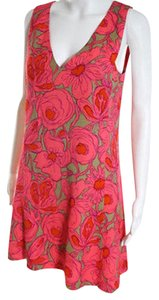 Tracy Reese short dress multi color on Tradesy
