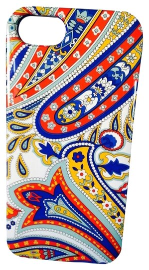 Vera Bradley Red& Blue Paisley Design iPhone 5 Case