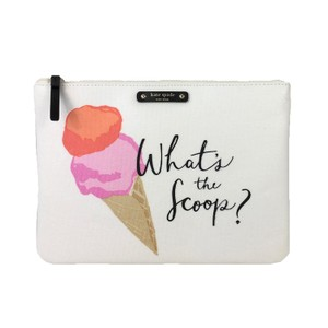 Kate Spade Kate Spade Flavor Of The Month Ice Cream Gia Clutch, What's The Scoop