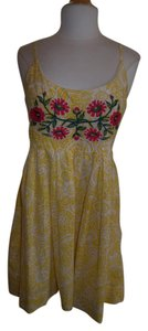Uncle Frank short dress Yellow Sunny Comfortable on Tradesy