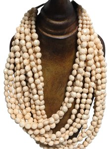 Anthropologie layered beaded necklace