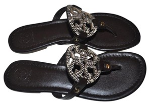Tory Burch Dark Brown/Coconut Sandals