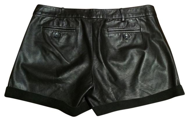 Item - Black Bird By Leather Suede Shorts Size 4 (S, 27)