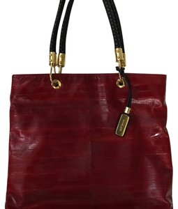 Michael Kors Tote in Claret (Deep Ruby Red)