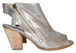 Paul Green Bootie Wedge SMOKE LEATHER Sandals