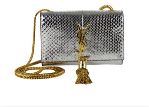 Saint Laurent New Metallic Cross Body Bag