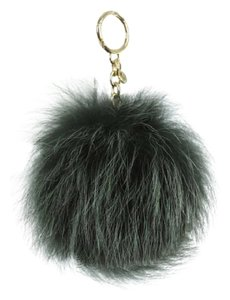 Michael Kors Michael Kors Fur Pom Large Charm Keychain with BOX NWT