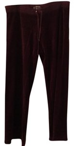 Juicy Couture Athletic Pants Purple / Burgundy / Pomegranate