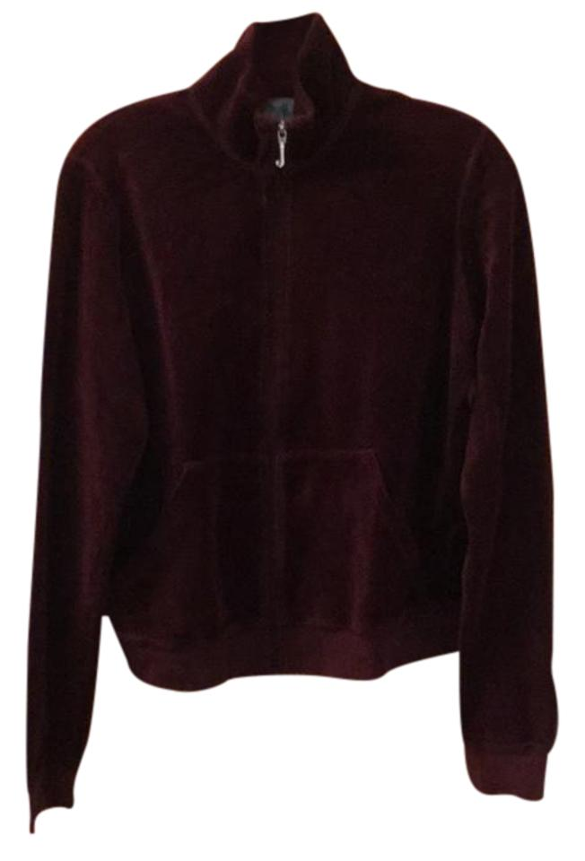 a57061fd4fcd Juicy Couture Purple   Burgundy   Wine   Pomegranate Velour Track ...