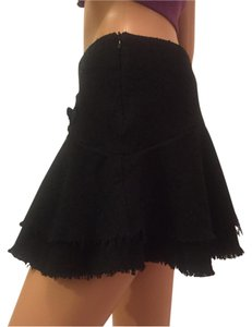 A'GACI Mini Skirt Black