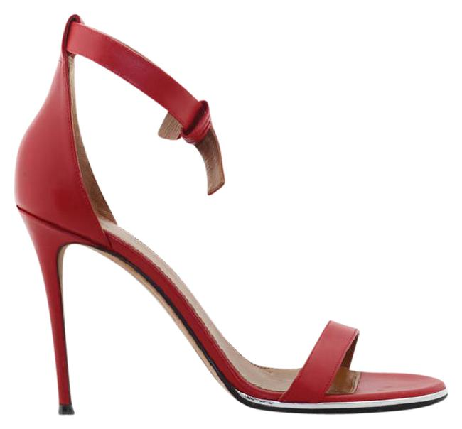 Item - Red Nadia In Leather Sandals Size US 8
