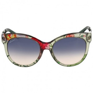 Gucci Gucci Trasparent Floral Cat Eye Sunglasses GCGG3760FS2F1I4