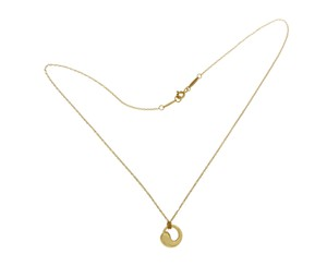 Tiffany & Co. TIFFANY & Co. 18K Gold Peretti Eternal Circle Pendant Necklace Size 16