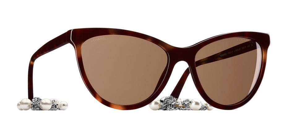 2d46d7519198 Chanel Chanel 5341 Latest Collection Cat Eye Sunglasses Image 0 ...