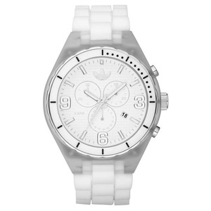 adidas ADH2533 Cambridge White Silicone Bracelet Unisex Watch