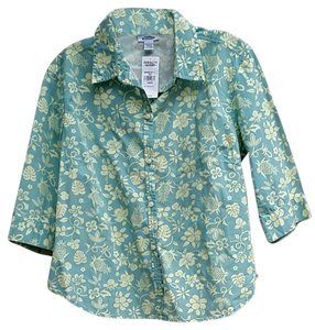 Old Navy Button Down Shirt blue