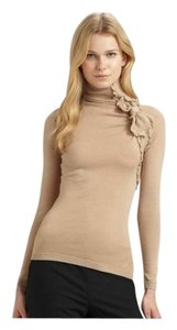 RED Valentino Valentino Bow Turtleneck Cashmere Blend Sweater