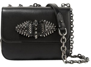 Christian Louboutin Sweet Charity Studded New Shoulder Bag