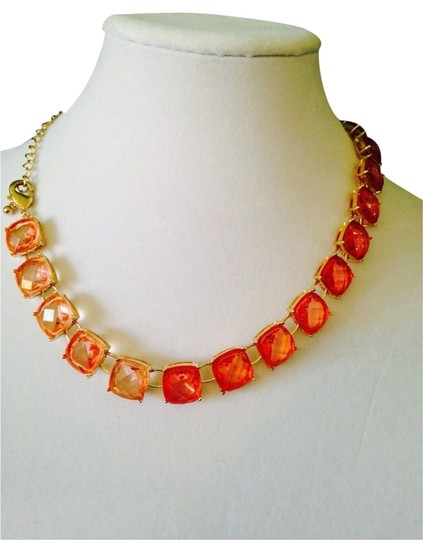 Preload https://item5.tradesy.com/images/rj-graziano-shades-of-peach-and-pink-gold-faceted-cushion-cut-necklace-2131164-0-0.jpg?width=440&height=440