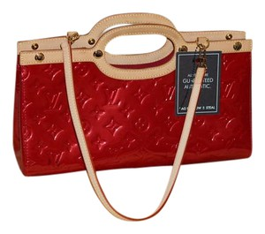 Louis Vuitton Vintage Limited Roxy red Clutch