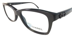 Chanel Eyeglasses Dark Brown with Case