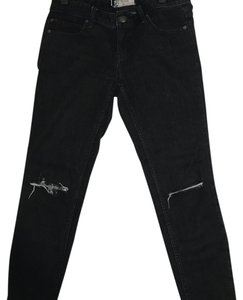 Free People Skinny Jeans-Dark Rinse