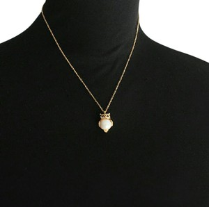 Kate Spade NEW kate spade Into the Woods owl pendant short necklace
