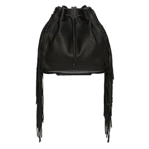 Vince Camuto Fringe Camuto Camuto Brown Backpack