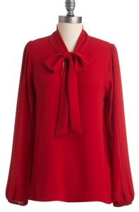 Everly Top Red