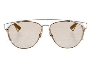 Dior Rose gold-tone Christian Dior Technologic sunglasses