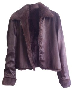 Wilsons Leather Rich Brown Leather Jacket