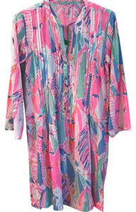 Lilly Pulitzer short dress multi- out to sea on Tradesy