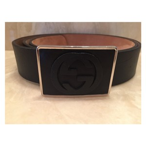 26e01be500e Black Gucci Belts - Up to 70% off at Tradesy