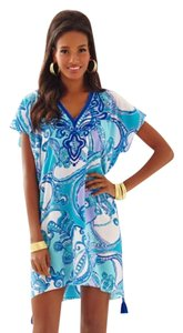 Lilly Pulitzer short dress multi-blue-test the water on Tradesy