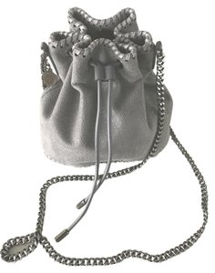 Stella McCartney Chain Strap Silver Hardware Vegan Fabric Cross Body Bag