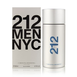 Carolina Herrera 212 by Carolina Herrera 6.75 oz / 200 ml EDT Spray for Men,New !!