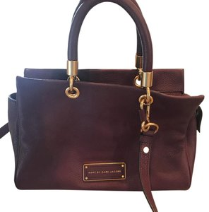 Marc by Marc Jacobs Satchel in wine