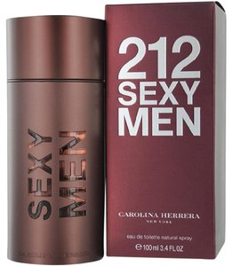 Carolina Herrera 212 SEXY by Carolina Herrera 3.4 oz / 100 ml EDT Spray for Men,New.