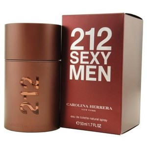 Carolina Herrera 212 SEXY by Carolina Herrera 1.7 oz / 50 ml EDT Spray for Men,New.