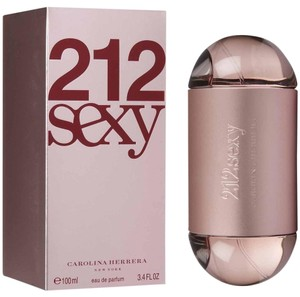 Carolina Herrera 212 SEXY by Carolina Herrera 3.4 oz / 100 ml EDP Spray for Woman,New.