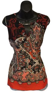 Essentials by Milano Top Red, Black, White, Coral, Multi