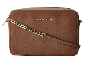Michael Kors Saffiano Leather Cross Body Bag