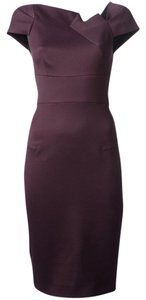 Roland Mouret Sheath Fitted Classic Pleated Dress
