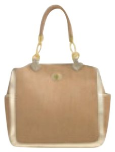 Tory Burch Tote in natural / gold