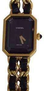Chanel Chanel Leather Double Chain Watch