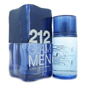 Carolina Herrera 212 GLAM by Carolina Herrera 3.4 oz / 100 ml EDT Spray for Men,New !!